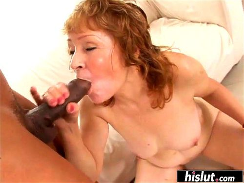 Dirty Talking Mature Blowjob
