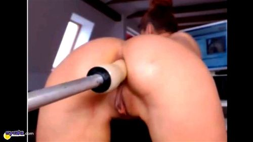 Amateur First Fuck Machine