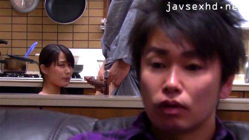 father(父) inlaws big dick - Japanese, Asian, (フェラ)blowjob, Cumshot, Handjob, (中出)creampie Porn
