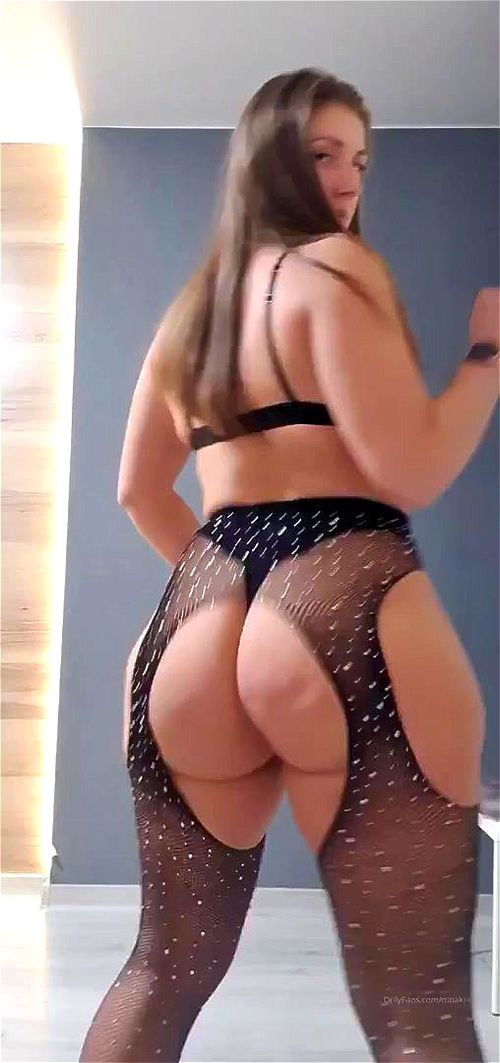 Thickumz Big Ass Brunette