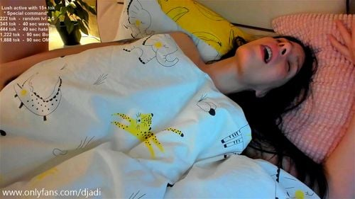 Ukrainian brunette HiddenHeritage teases in bed