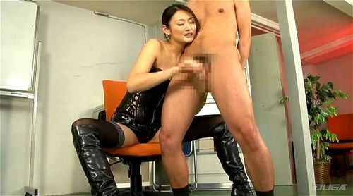 Japanese Girl Dominates Man
