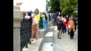 Diapergirl in public