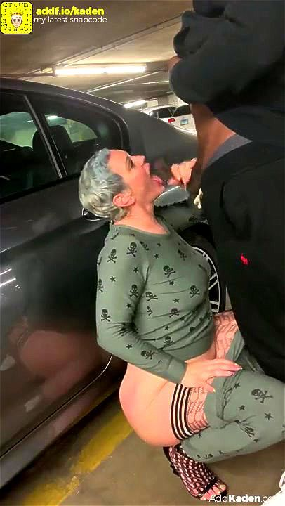 Amateur Wife Parking Lot