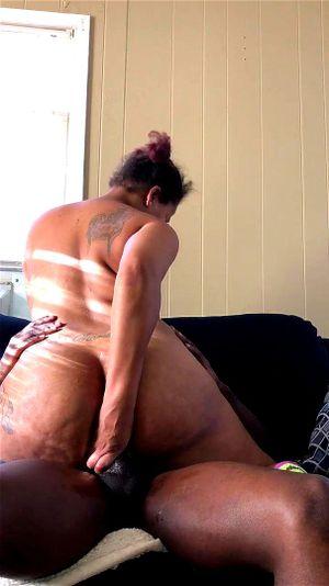 Ebony Big Ass Anal Creampie