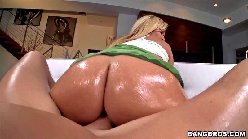 Asian Bubble Butt Riding