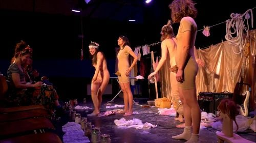 Watch Naked on stage - Nude, Theater, Undressing, Naked On Stage, Fetish, Striptease Porn - SpankBang