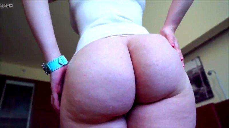 Solo Big Butt Ebony Ass Show