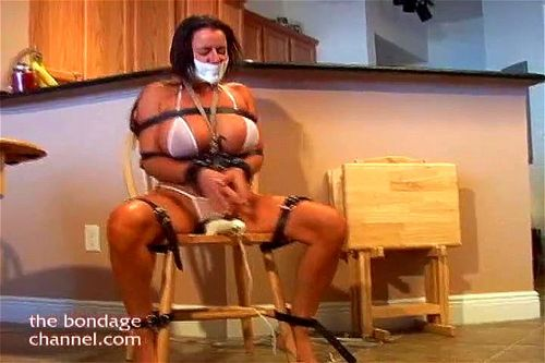 Big Tits Tied Up Bondage