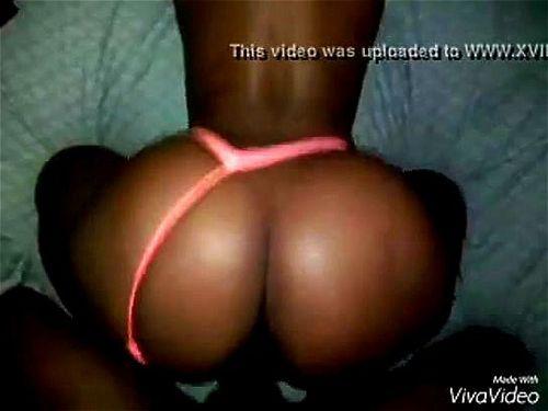 Ebony Bbw Throw Ass Back