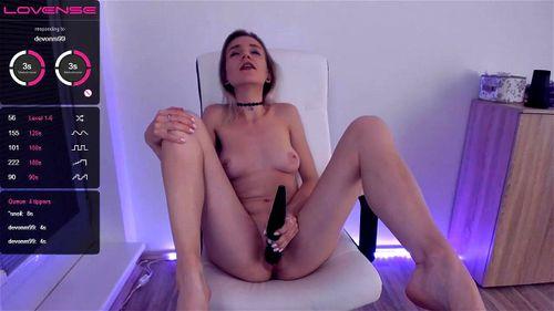 Young blonde AlicePure webcam tease 2/2
