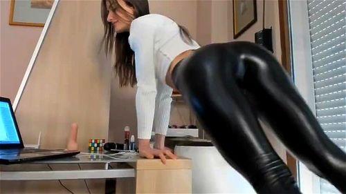 Shiny spandex video