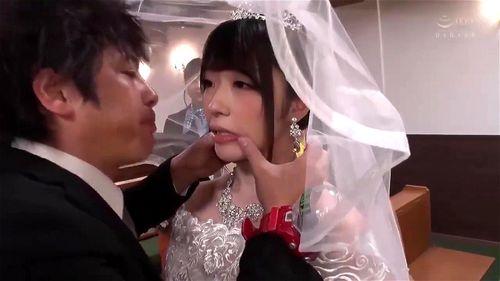 新川愛七 桃尻かのん 結婚式の真っ最中に時間停止!幸せ絶頂の巨乳花嫁をレイプする