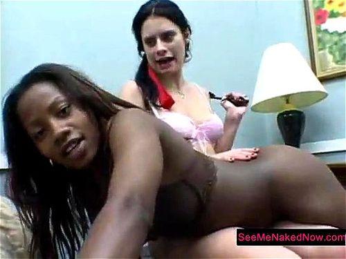 Spanking ebony A Babysitter's