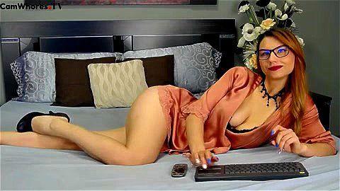 Sexy model MelisaGreen webcam tease