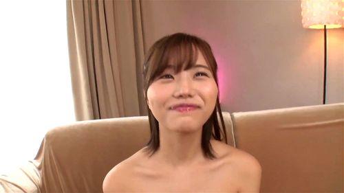 【二階堂夢】『いっぱい出た…♥』ミスコン少女がスレンダー巨乳を披露の初ヌード!主観フェラでご奉仕⇒大量精子を大放出w