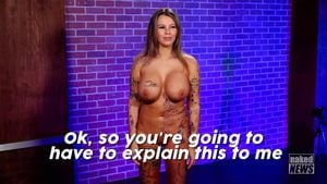 Naked news audition