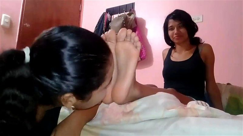 Lesbian Ebony Feet Worship