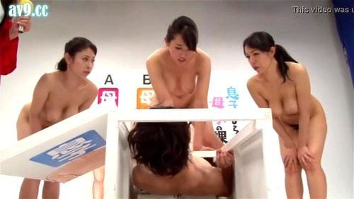 Japanese Taboo Family Game Show (中出)creampie