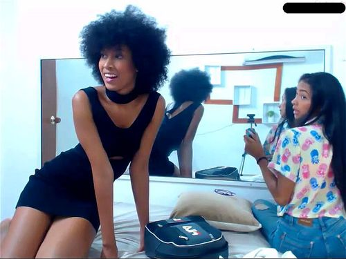 Colombian teens on webcam