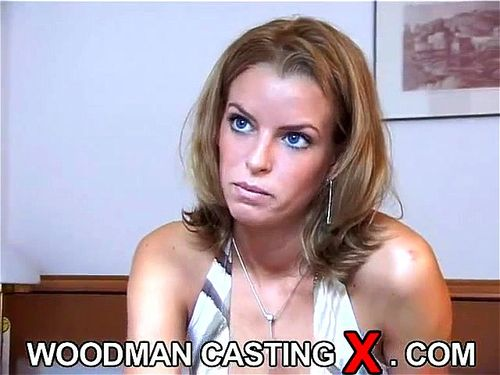 Porno casting woodman