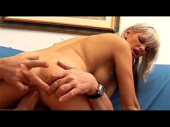 busty blonde german milf