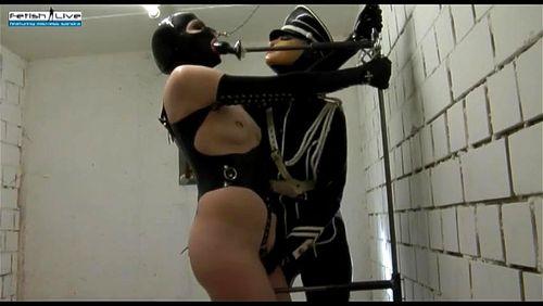 Sex slave latex Rubber