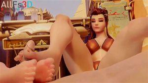 Hentai overwatch feet Overwatch Widowmaker