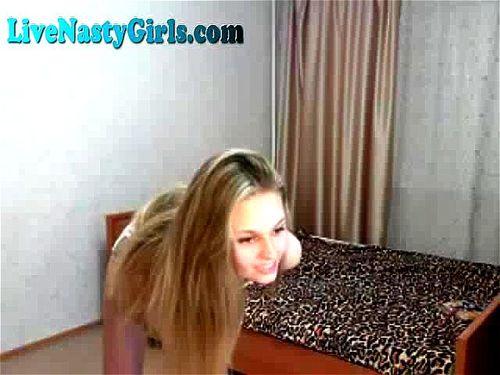 Hot Young Girl Masturbating