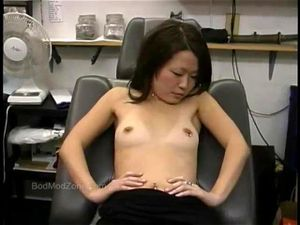 Nipple piercing porn