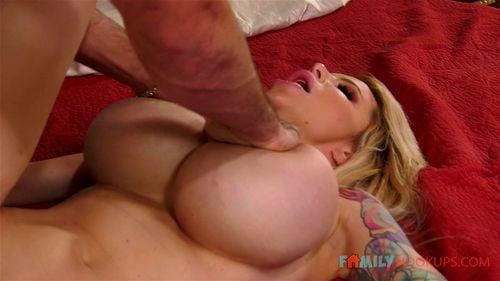 Milf fake tits