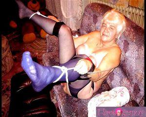 Nude old granny Granny Dump
